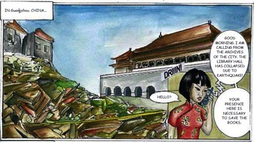 Image from comic, English version
